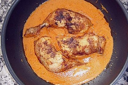 Curryhähnchen mit Reis 4
