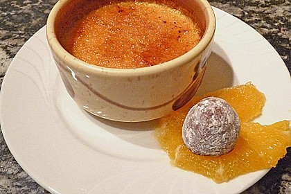 Crème brûlée mit Orange 8
