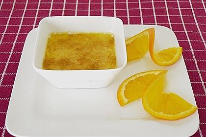 Crème brûlée mit Orange 4