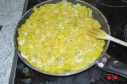 Ananas - Fisch - Ragout 2