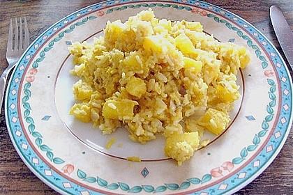 Ananas - Fisch - Ragout 1