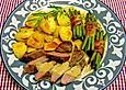 Lammfilet mit Knoblauch - Thymian - Sauce