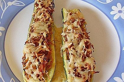 Zucchini mit Thunfischfüllung 3
