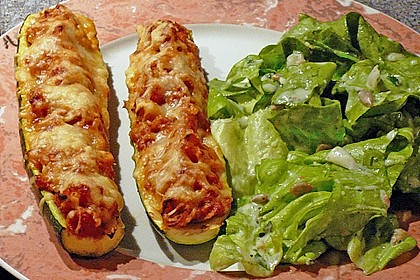 Zucchini mit Thunfischfüllung 9