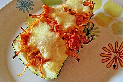 Zucchini mit Thunfischfüllung 8