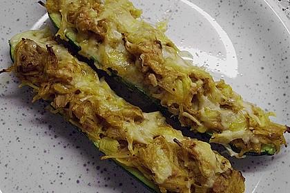 Zucchini mit Thunfischfüllung 10