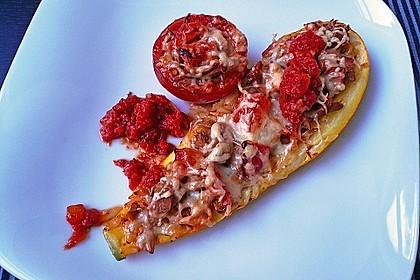 Zucchini mit Thunfischfüllung 1
