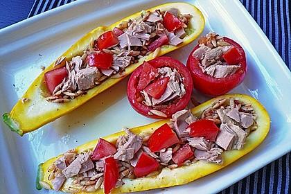 Zucchini mit Thunfischfüllung 2