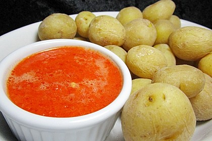Kanarische Kartoffeln mit Mojo - Sauce 3