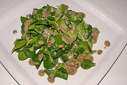 Feldsalat mit Sahne-Speck-Sauce 18