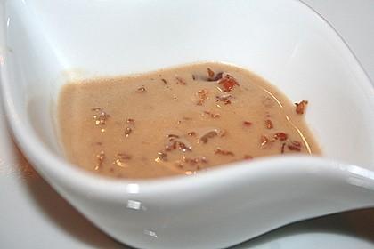 Feldsalat mit Sahne-Speck-Sauce 46