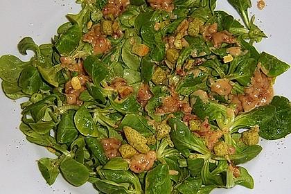 Feldsalat mit Sahne-Speck-Sauce 17