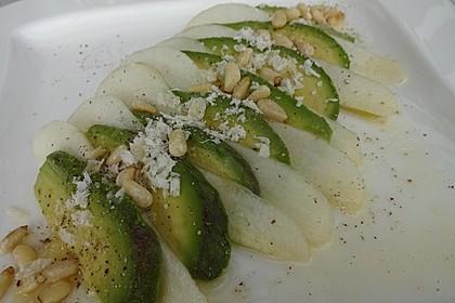 Avocado - Birnen - Salat