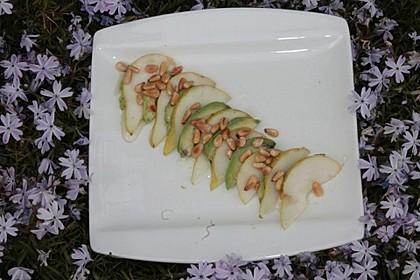 Avocado - Birnen - Salat 4