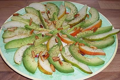 Avocado - Birnen - Salat 2
