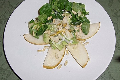 Avocado - Birnen - Salat 9