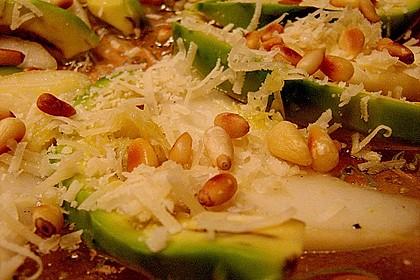Avocado - Birnen - Salat 3