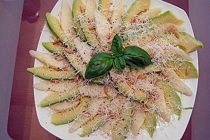 Avocado - Birnen - Salat 6