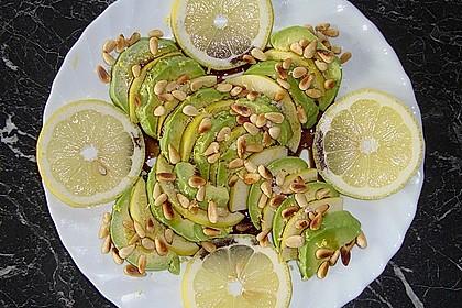 Avocado - Birnen - Salat 1