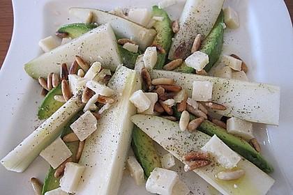 Avocado - Birnen - Salat 7