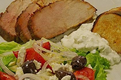 4 - Stunden Schweinerücken, griechisch 2