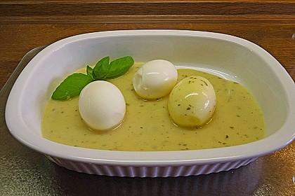 Eier in Senfsauce 4