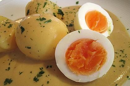 Eier in Senfsauce 2