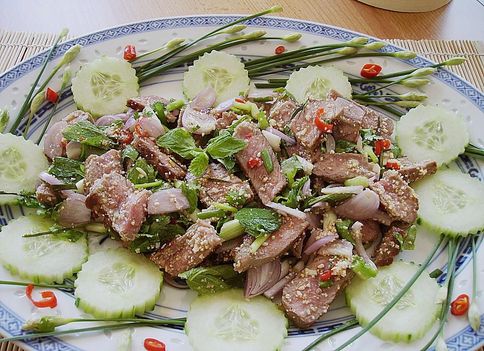 Rezepte fleisch und salat