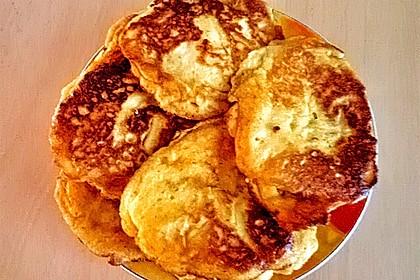 Süße dicke Eierpfannkuchen 5