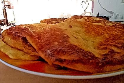 Süße dicke Eierpfannkuchen 6