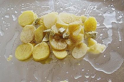 Gemüsefisch in Alufolie 12