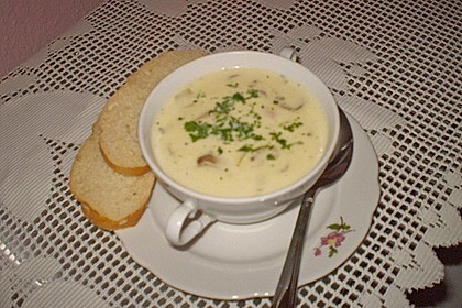 Vegetarische Käsesuppe 7