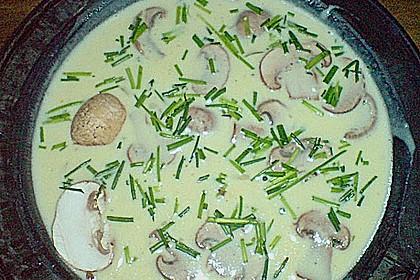 Vegetarische Käsesuppe 9