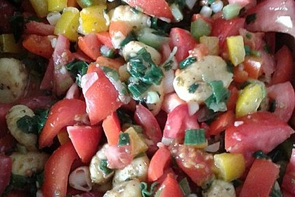 Gnocchi mit Tomaten - Paprika - Gemüse 9