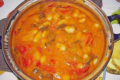 Gnocchi mit Tomaten - Paprika - Gemüse 6