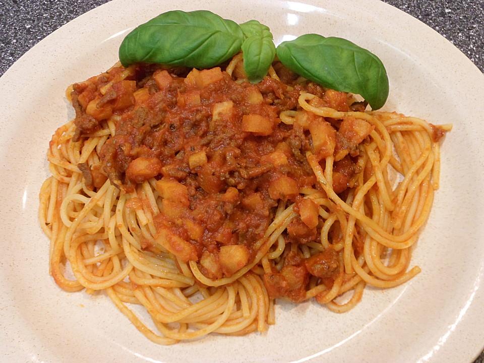 rezept backofen spaghetti bolognese rezept einfach schnell. Black Bedroom Furniture Sets. Home Design Ideas