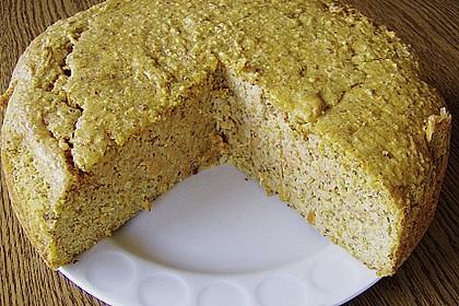 Möhren - Marzipan Kuchen