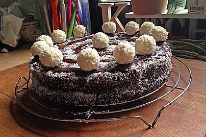 Schoko-Kokos-Kuchen 1