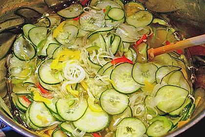 Gurken - Salat 1