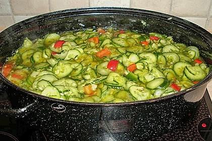 Gurken - Salat 2