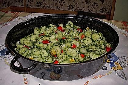 Gurken - Salat 3