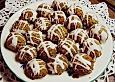 Kokosknöpfe mit Marzipan