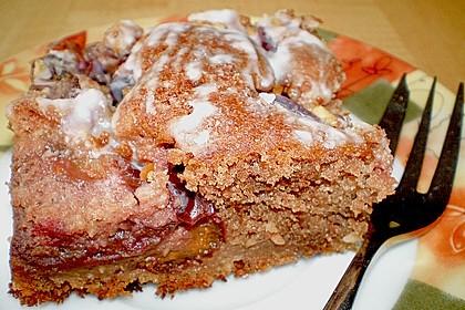 Rotwein - Schokoladen - Kuchen 1
