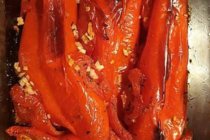 Türkische Paprika aus dem Backofen - sehr knackig 18