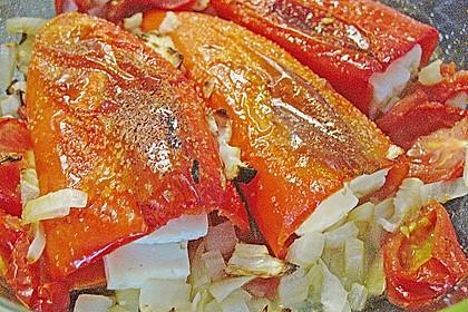 Türkische Paprika aus dem Backofen - sehr knackig 50