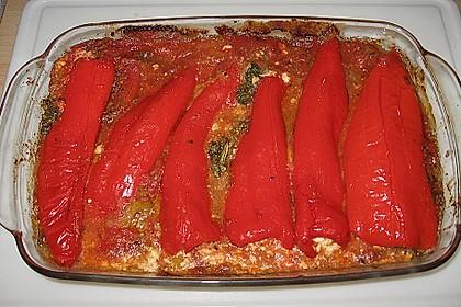 Türkische Paprika aus dem Backofen - sehr knackig 14