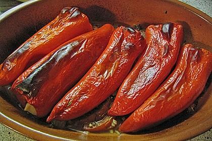 Türkische Paprika aus dem Backofen - sehr knackig von Illepille ...