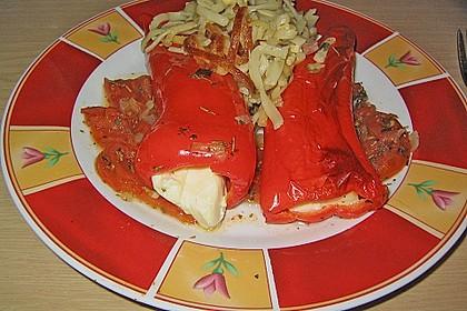 Türkische Paprika aus dem Backofen - sehr knackig 34