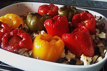 Türkische Paprika aus dem Backofen - sehr knackig 9