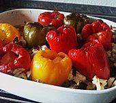 Türkische Paprika aus dem Backofen - sehr knackig (Bild)